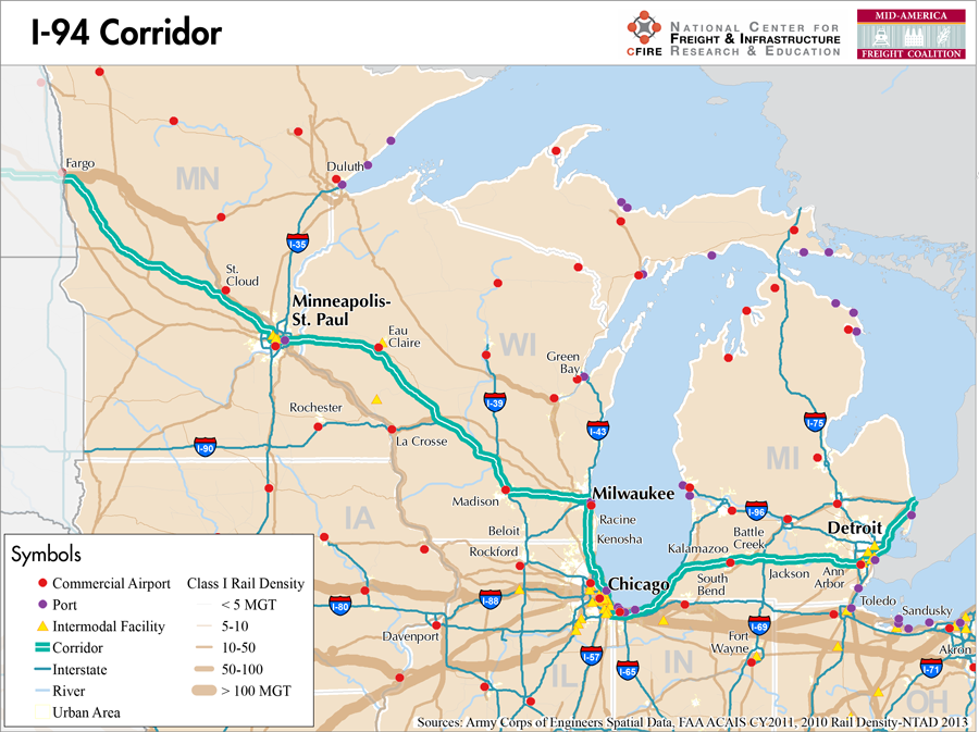 Corridor_I94 I Road Map on highway 287 map, i-94 illinois map, i 94 toll map, i-94 milwaukee map, i 94 united states, i 94 east map, i-94 wisconsin map, i 90 road map, i 80 road map,