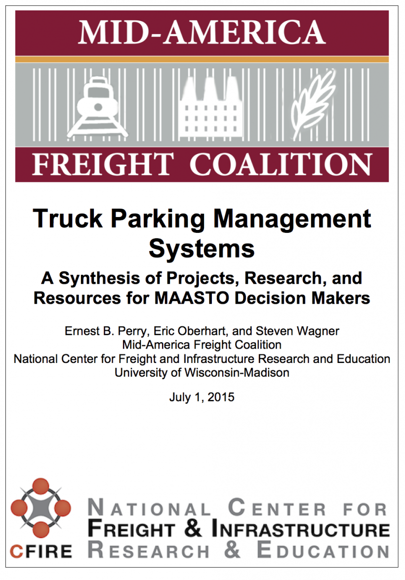 Trucking Parking Management Systems in the MAFC – Mid
