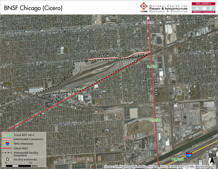 BNSF Chicago (Cicero) – Mid-America Freight Coalition