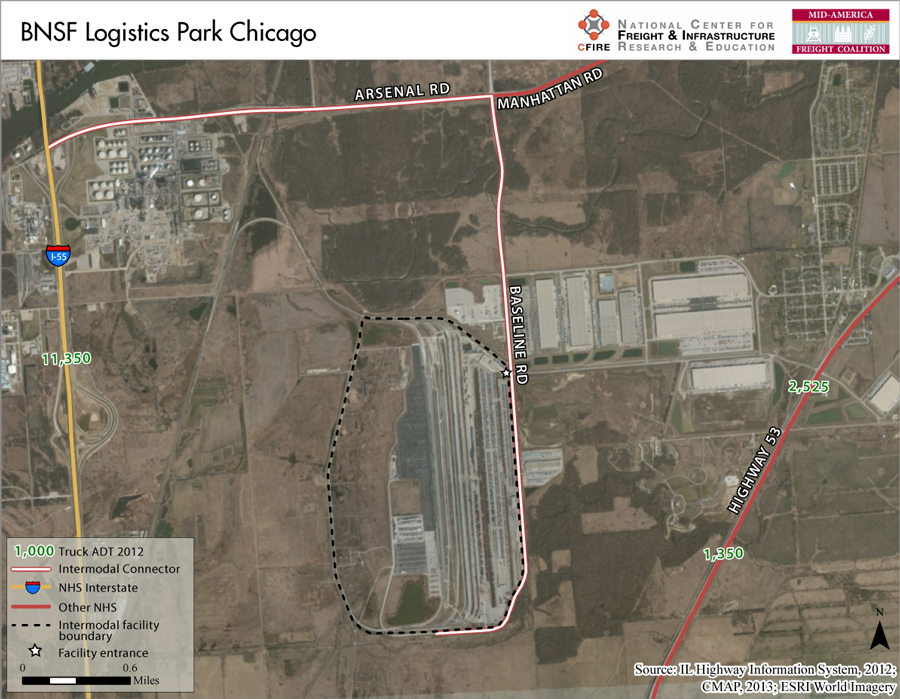 BNSF Logistics Park—Chicago – Mid-America Freight Coalition